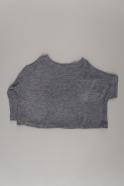 Pull hiver 19, jersey épais gris clair