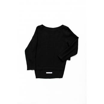 Open top, black linen