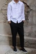 Chemise Homme pour homme, lin blanc