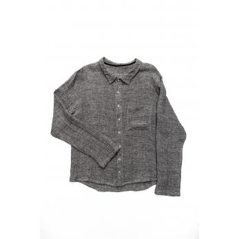 Chemise Homme pour homme, lin gris