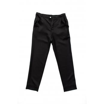 Pantalon Homme pour homme, flanelle noire