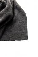 Echarpe, jersey épais gris clair