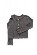 Gilet, jersey épais gris clair