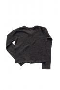 Cardigan, dark grey heavy jersey
