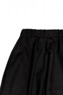 Jupe longue, flanelle noire