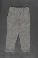 Pockets trousers, herringbone wool drap