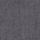Robe évasée manches longues, col V, lin épais gris