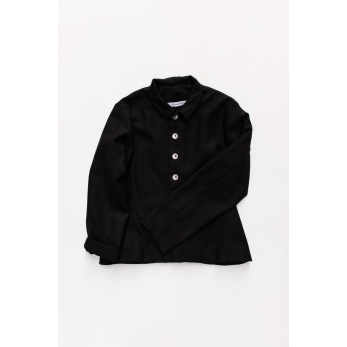 Tailor jacket, black flannel