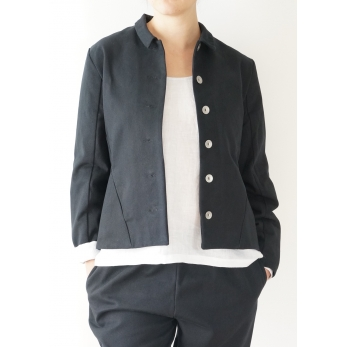 Tailor jacket, black denim