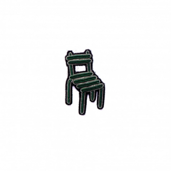 Broche Chaise de square