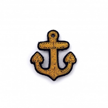 Broche Ancre or