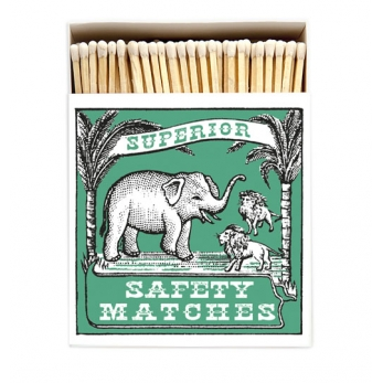 "Square matchbox ""Elephant"""