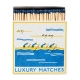 "Square matchbox ""Luxury Matches"""