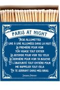 "Boite d'allumettes ""Paris at night"""