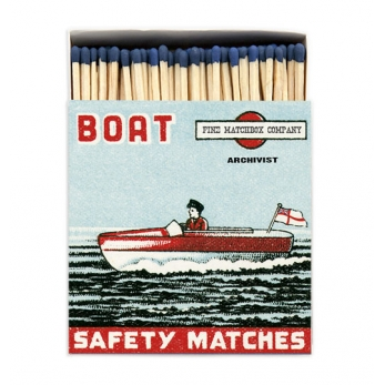 "Square matchbox ""Boat"""