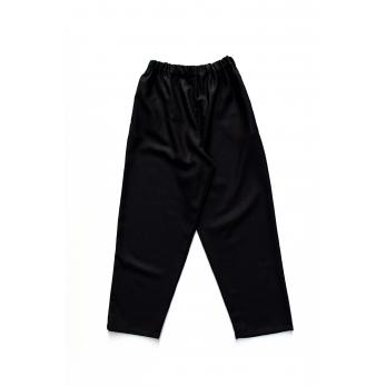 Pantalon long, flanelle noire