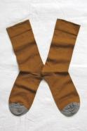 """""""Plain"""" socks, Cinnamon"""
