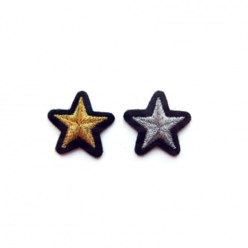 """Patches """"Star gold + silver"""""""