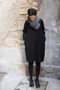 Scarf OSA dark grey