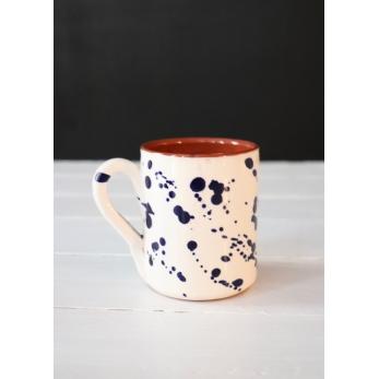 "Mug ""dots"" blue"