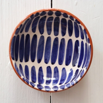 "Small bowl ""dash"" blue"