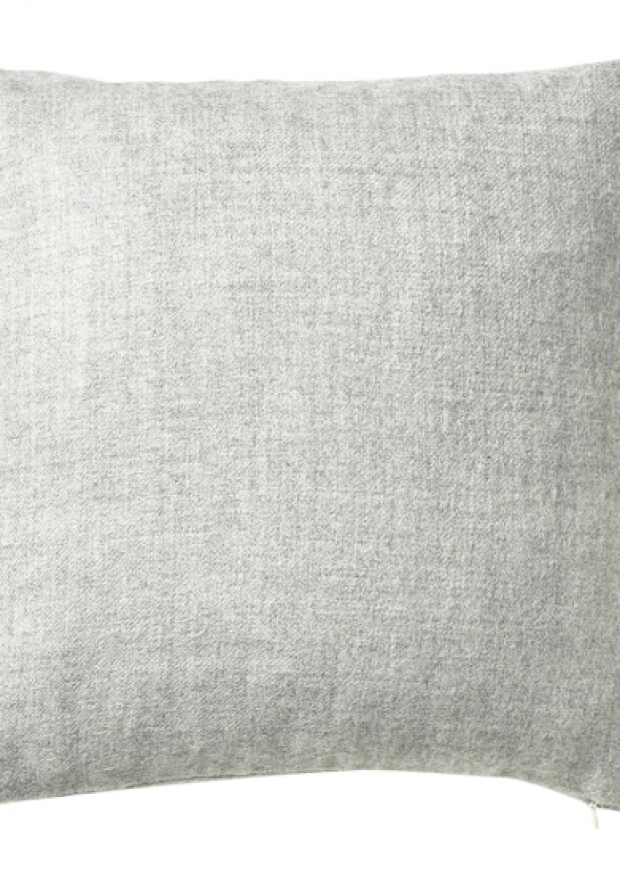 Light grey alpaga pillow