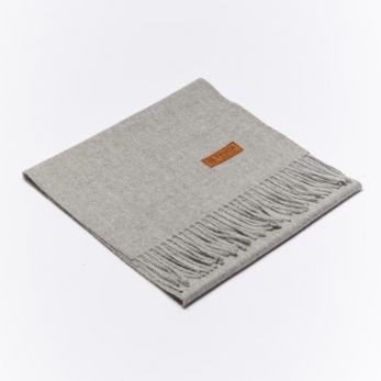 Light grey alpaga scarve
