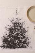 """Napkins """"Christmas tree"""" white"""