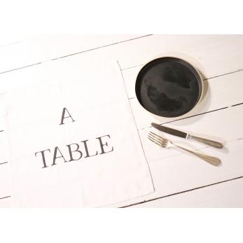 """Napkins """"A Table"""" white"""