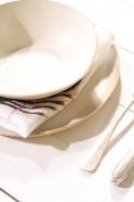 "Serviette de table ""Homard"" blanche"