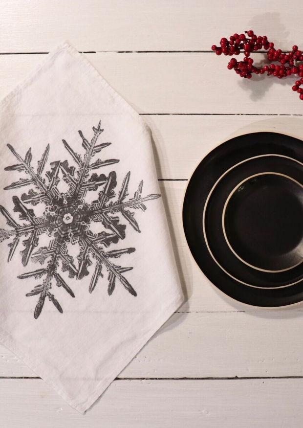 """Napkins """"Snowflake"""" white"""