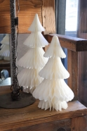 White paper Christmas tree