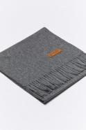 Dark grey alpaga scarve