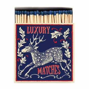 """Square matchbox """"The stag"""""""