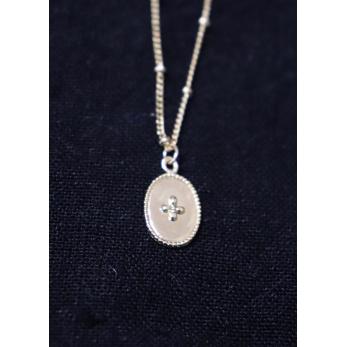 """Medallion"" necklace gold"