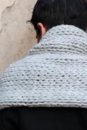 Echarpe XL HENRI, gris clair