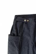 Pantalon été pour homme, jean recyclé bleu