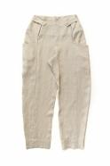 Summer trousers for man, natural linen