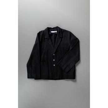 Veste de costume pour homme, jean noir