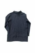 Chemise mixte pour homme, lin indigo