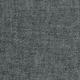 Robe évasée manches longues, col profond, lin gris