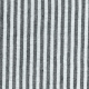 3/4 sleeves shirt, light stripes linen