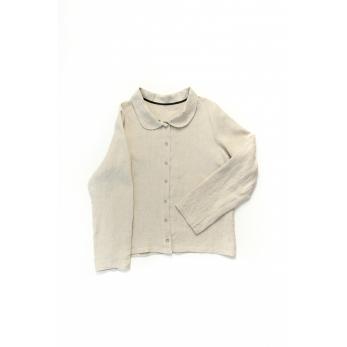 Long sleeves shirt, natural linen