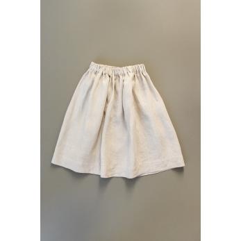 Skirt, natural linen