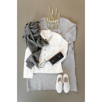 Tailor jacket, white denim