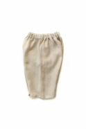 Unisex short, natural linen