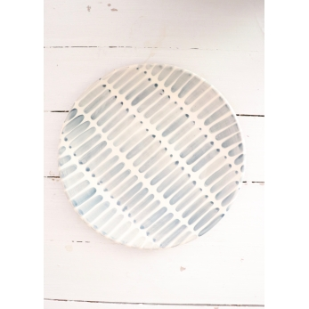 Dash plate grey