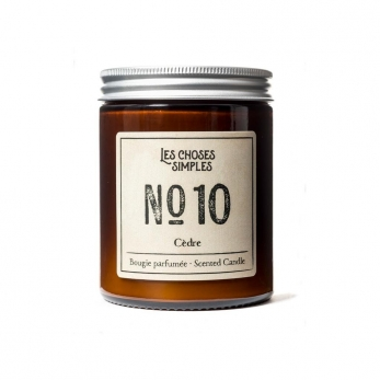 "Bougie No 10 ""Cèdre"""