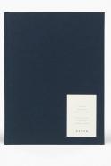 Notebook EVEN, dark blue