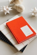 Notebook EVEN, bright red